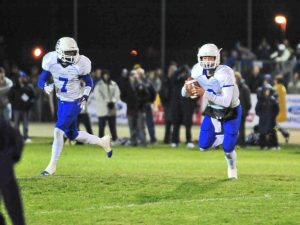 Image is of Culver City Centaurs football players.
