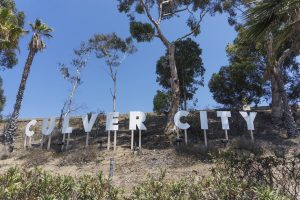 Image is of the Culver City California city sign.