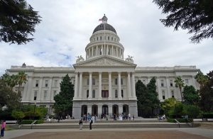 Image is the California capitol building.