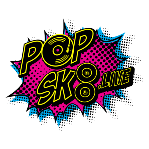 Image is the POP SK8 logo.