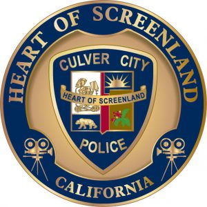 Image is a drawing of the Culver City Police Department badge.