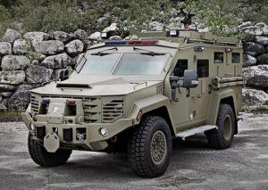 Image is the Bearcat Armored Personnel Carrier.